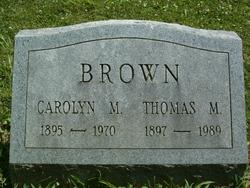 Carolyn M Brown