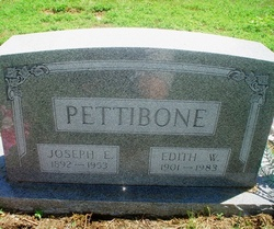 Edith W <i>Youtsey</i> Pettibone