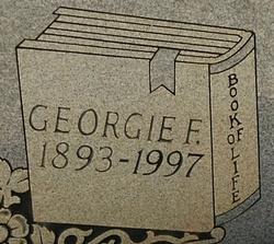 Georgie <i>Fennell</i> Sapp
