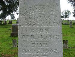 Mary Polly <i>Bell</i> Allen