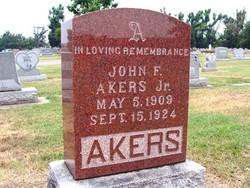 John F Akers, Jr