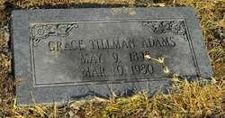 Grace <i>Tillman</i> Adams