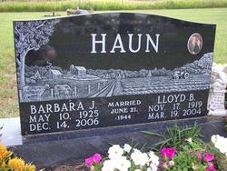 Barbara J <i>Crilly</i> Haun