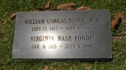 Virginia <i>Nash</i> Fonde