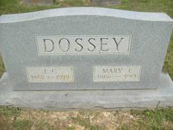 Mary E <i>Hagan</i> Dossey