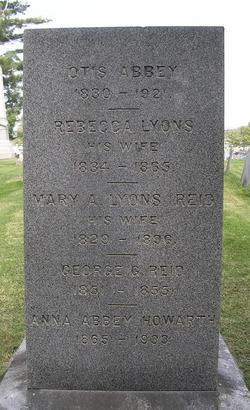 Mary A. <i>Lyons</i> Abbey