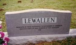 Lydia Lucy <i>Rice</i> Lewallen