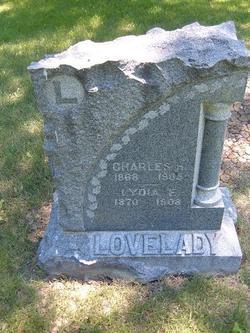 Lydia ELizabeth <i>Brown</i> Lovelady