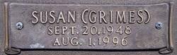 Susan <i>Grimes</i> Watson