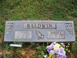Margaret L. <i>Chaney</i> Baldwin