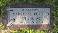 Margarita Maggie <i>Gallegos</i> Cordero