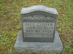 Alexander Alex Gunter