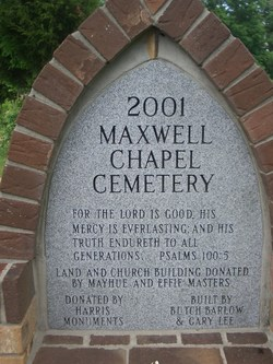 Maxwell Chapel Cemetery
