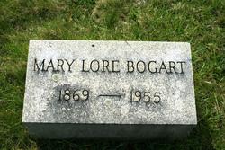 Mary <i>Lore</i> Bogart