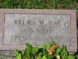 Velma M <i>Hay</i> Aspinwall