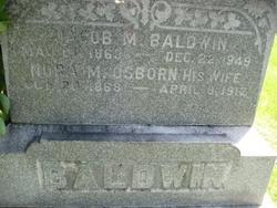 Nora M. <i>Osborn</i> Baldwin