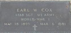 Earl William Cox