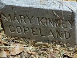 Mary E. <i>Kinney</i> Copeland