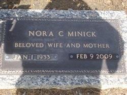 Nora Catherine <i>Sparks</i> Minick