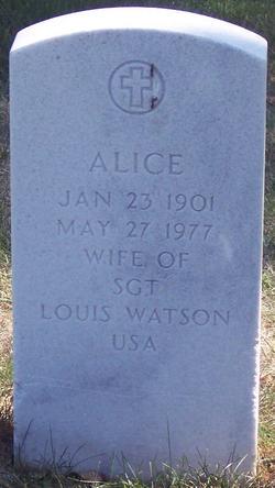 Alice Watson