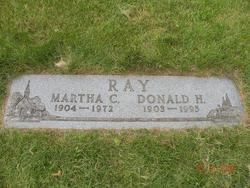 Martha C. Mattie <i>Spence</i> Ray
