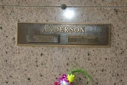 Lizzie <i>Miller</i> Anderson