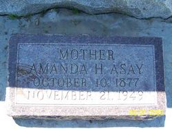Amanda Permelia <i>Hatch</i> Asay