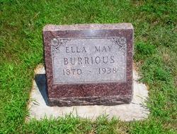 Ella May <i>Duncan</i> Burrious