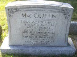 Mary Ann Sheridan