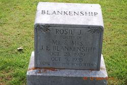 Rosie Jane Blankenship
