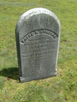 Phebe E. <i>Lawton</i> Ashborn