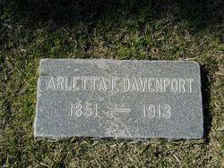 Arletta Francelia <i>Hawver</i> Davenport