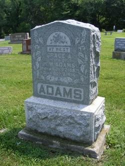 Grace A <i>Lidden</i> Adams