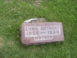 Emma C <i>Brooks</i> Anthony