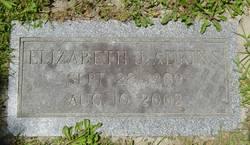 Elizabeth J. <i>White</i> Adkins