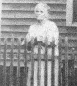 Martha Elizabeth <i>Nunn</i> Henson Adams