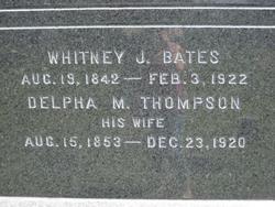 Delpha <i>Thompson</i> Bates
