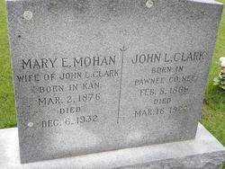 Mary Elizabeth <i>Mohan</i> Clark