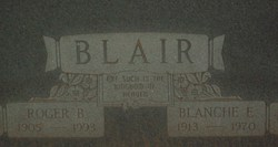 Blanche E <i>Walters</i> Blair