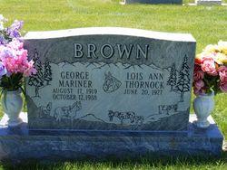 George Mariner Brown