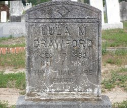 Lula Matilda <i>Laughton</i> Crawford