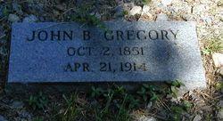 John B Gregory