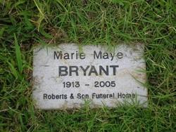 Marie Maye Bryant