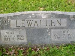 Vertie <i>Thompson</i> Lewallen