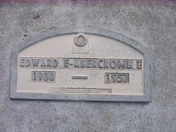 Edward Eugene Abercrombie