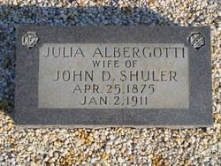 Julia Ella <i>Albergotti</i> Shuler