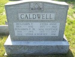 Benjamin F Calwell, Jr