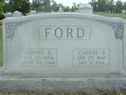 Sophia E <i>Pullen</i> Ford