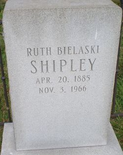 Ruth <i>Bielaski</i> Shipley