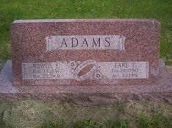 Winnie E. <i>Hassenplug</i> Adams